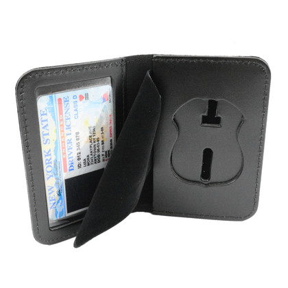 Weyhing WB100 Badge and ID Case - Duty Leather - Book Style