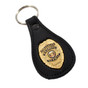 CWP Concealed Weapons Permit Mini Badge Key FOB Ring