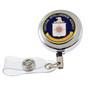 CIA Security Badge Retractable ID Holder Reel