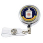 CIA Security Badge Retractable ID Holder Reel
