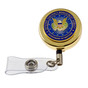 DoD Defense Contract Management Agency DCMA Retractable Security ID Holder Reel