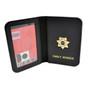 Deputy Sheriff Family Member Badge Leather ID Wallet Case
