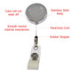 EMT Emergency Medical Technician Retractable ID Holder