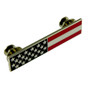 American Flag Police Uniform Citation Bar Lapel Pin