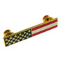 American Flag Police Uniform Citation Bar Lapel Pin