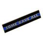 Thin Blue Line Police Uniform Citation Bar Lapel Pin