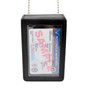 Universal Leather Badge & ID Holder with Neck Chain - Large