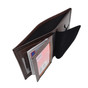 Perfect Fit Model 104 Hidden Recessed Police Badge Leather Wallet - Custom Cutout