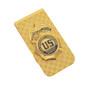 DEA Special Agent Mini Badge Money Clip Cash Holder Gold