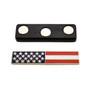 Magnetic U. S. American Flag Citation Bar Silver