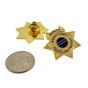 Deputy Sheriff 7 Point Star Mini Badge Lapel Pin