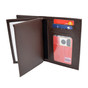 Perfect Fit FBI Brown Badge Case Credit Card Wallet