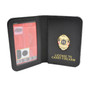 License to Carry Firearm Document Holder Leather Case Mini Badge