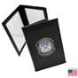 DHS CBP Field Operations Double ID Leather Credential Case