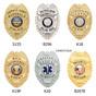 Police Badge Wallet - Premium Leather Bifold - B296 - S155