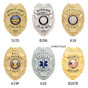 Police Officer Badge Wallet Recessed Cutout Fits Most Popular B296 S155