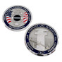 Corrections Officer Badge Challenge Coin - Thin Gray Line