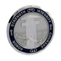 Corrections Officer BCorrections Officer 7 Point Badge Challenge Coin - Thin Gray Lineadge Challenge Coin - Thin Gray Line