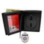 Perfect Fit Mass Police Badge Wallet - B587 Radiator Style