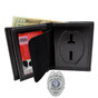 Perfect Fit New York Traffic School Safety Officer Badge Wallet