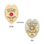 Eagle Top Shield Recessed Cut Neck Badge Holder ID Case