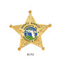 Florida Sheriff Neck Badge and ID holder with Chain