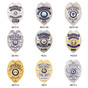 Police Badge Recessed Cut Neck Badge Holder ID Case - Eagle Top B879 SB1901