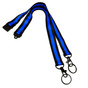 Thin Blue Line Double Hook Lanyard Neck Chain Replacement Safety Snap