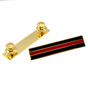 Thin Red Line Firefighter Mourning Citation Bar