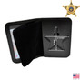 Ohio Sheriff 5 Point Star Badge Case - Duty Leather - Book Style