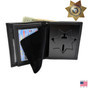 Corrections 7 Point Star Badge Wallet - CDCR California Corrections - Illinois Corrections