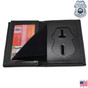 Tampa Florida Police Officer Hidden Badge Wallet- B551