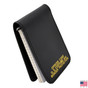 Perfect Fit Police Leather Pad Style 3 x 5 Notebook Case - Gold Foil Imprint