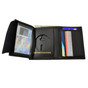 New York State Police Bi Fold Black Leather Badge Wallet