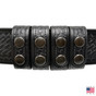 """Perfect Fit Duty Belt Keepers 1"""" Genuine Leather - 4 Pack"""