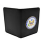 Perfect Fit Double ID Duty Leather ID License Case - State Department Medallion
