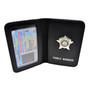 Thin Blue Line Chicago Police Officer Mini Badge Family Member Wallet