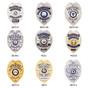 Eagle Top Hidden Badge Wallet - B879 - SB1901