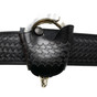 Perfect Fit Leather Quick Release Handcuff Case - Basketweave