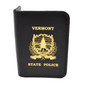 Vermont State Police Badge Case with Imprint