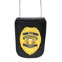 Bail Enforcement Agent Badge with Neck Chain and ID Holder