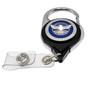 TSA Officer Patch Carabiner Retractable Badge Reel