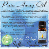 Pain Away™ Essential Oil Blend • 15 ml