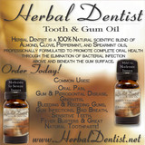 Herbal Dentist™ Tooth & Gum Oil