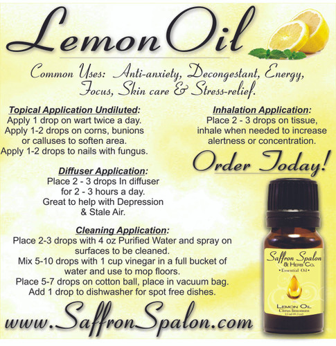 Lemon Essential Oil  • 15ml