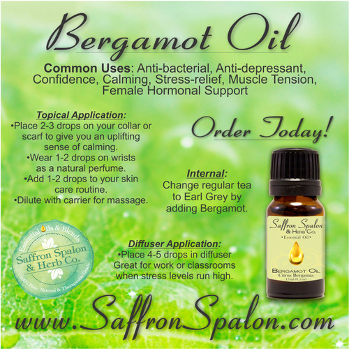 Bergamot Essential Oil • 15ml