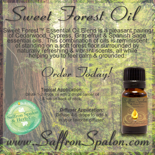 Sweet Forest™ Essential Oil Blend