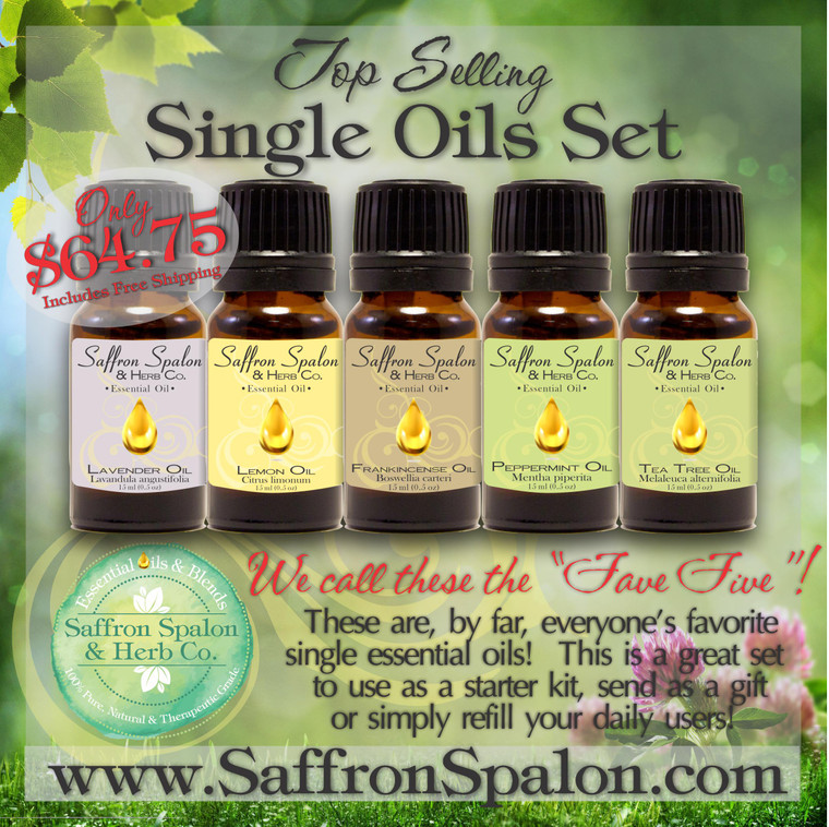 Fave Five Single Oils Set