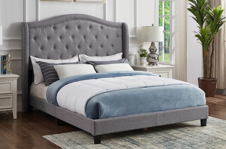Beverly Upholstered Platform Bed Online Sale by The Sleep Factory