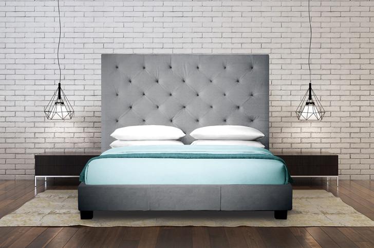 Celine Upholstered Headboard / Bed